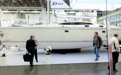'Wiktoria' Sailing Yacht Delphia 40.3 on Boot Dusseldorf