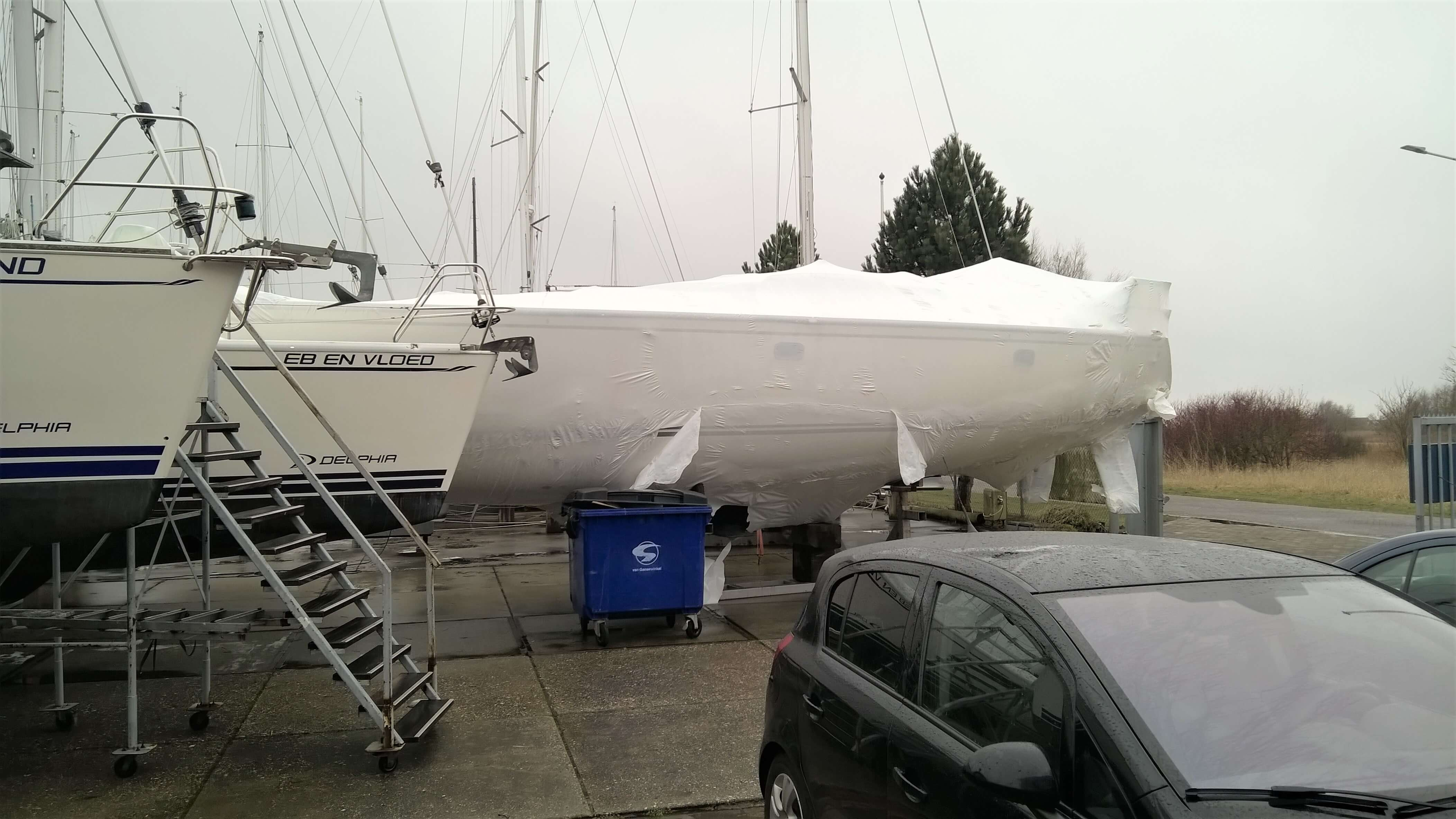 Unwrapping the Package - Getting Ready for Sailing Season