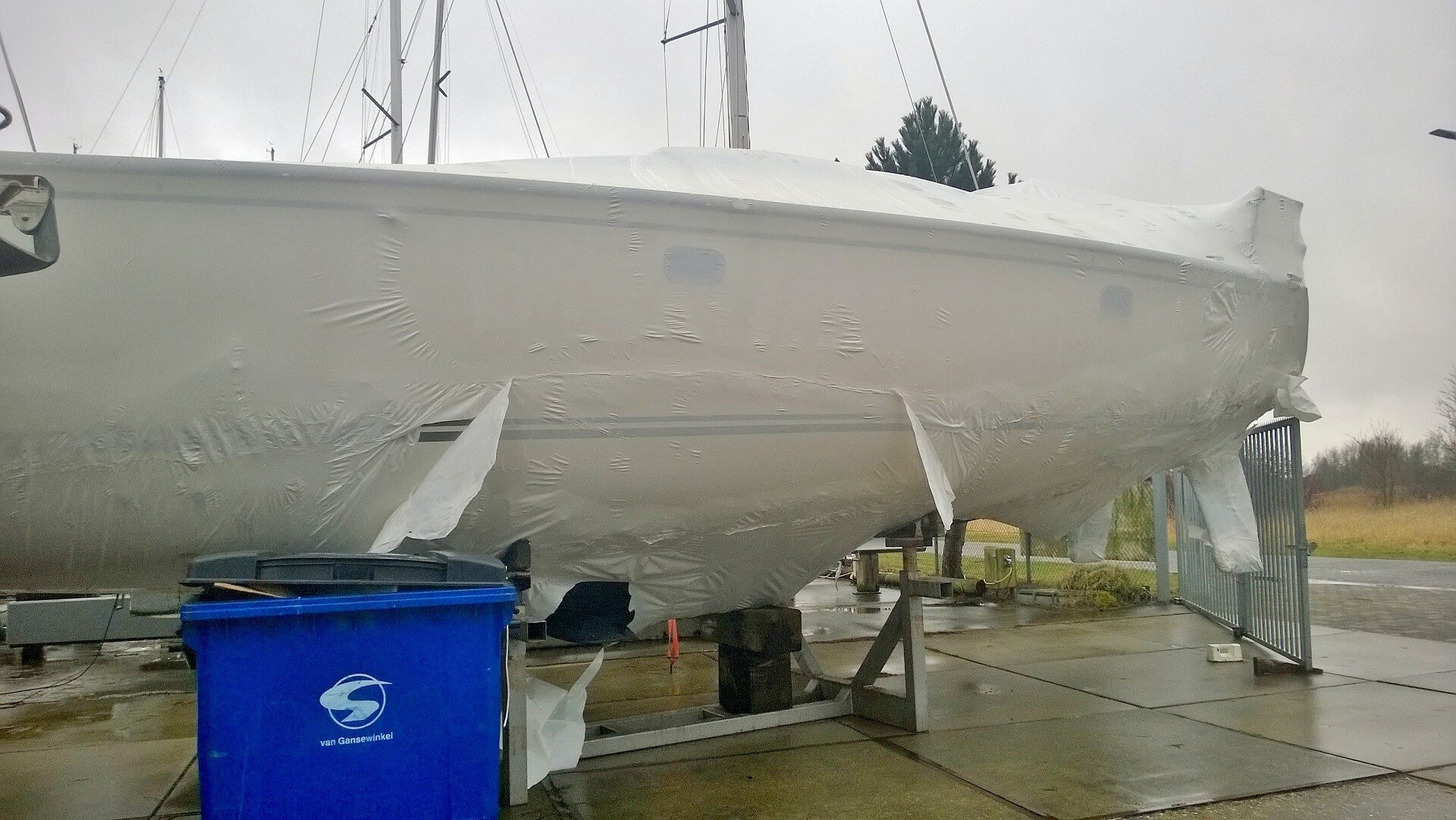 Unwrapping the Package – Getting Ready for Sailing Season