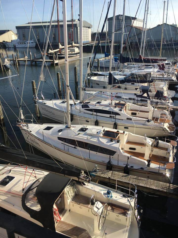 Getting ready for Sailing Season - SY Wiktoria at Tornado Sailing Makkum