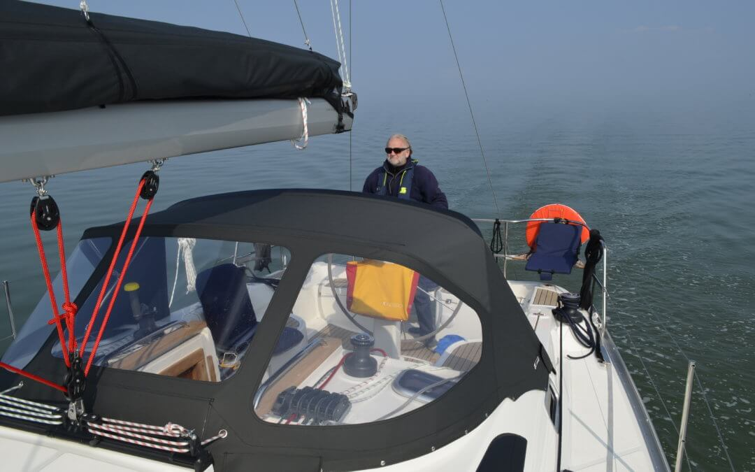 First time on the Wadden Sea